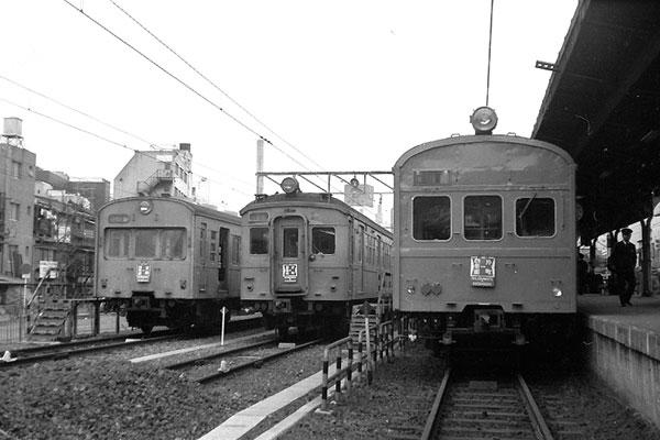 クハ79&クハ79 055&クハ79 片町駅電留線