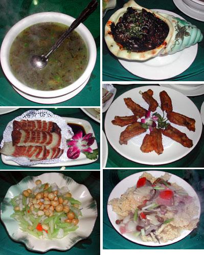 広州の四川料理
