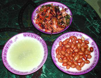 東北料理前菜