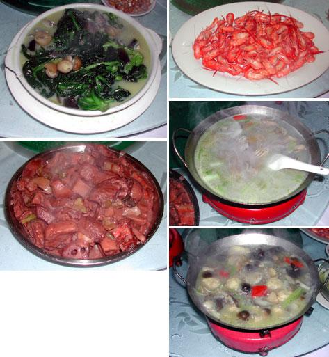 番禺の料理