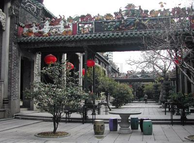 陳家祠中庭