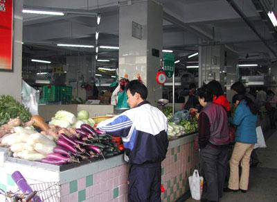広州の市場