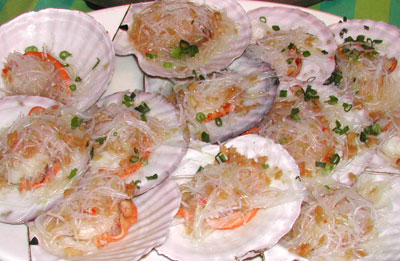 粉絲蒜香扇貝