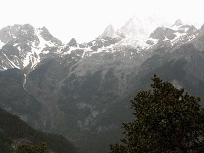 玉龍雪山アップ3