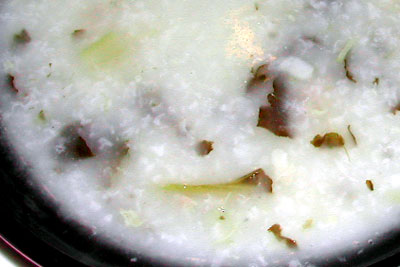 菜干猪骨粥
