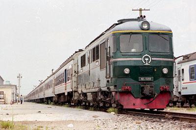 中国客車列車