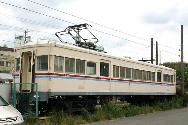 水間鉄道 500形 保存車