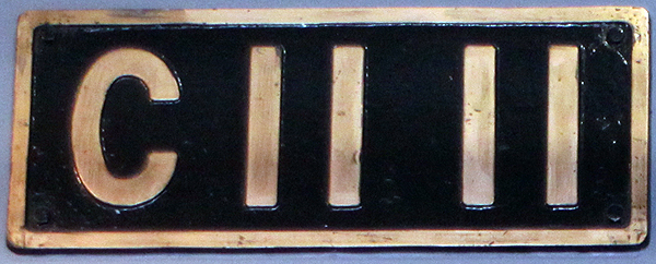 C11 11  ナンバープレート