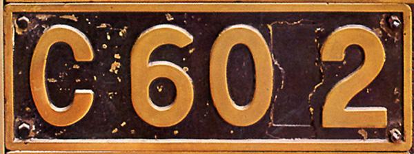 C60 2  ナンバープレート
