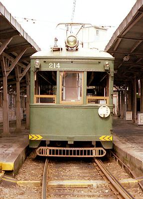 南海電鉄大阪軌道線(現・阪堺電軌)モ205形モ214